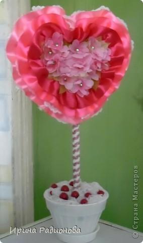 Мастер-класс Поделка изделие Валентинов день дерево любви двустороннее ЧАСТЬ 1 Бусинки Кружево Ленты Тесьма шнур фото 2
