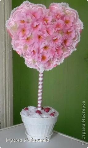 Мастер-класс Поделка изделие Валентинов день дерево любви двустороннее ЧАСТЬ 2 фото 13