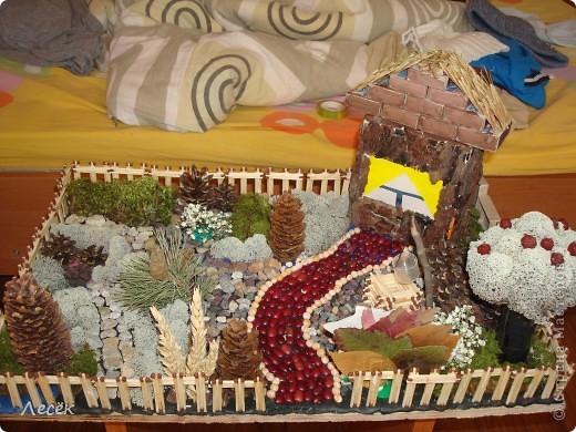 Летние поделки из природного материала в детском саду 4