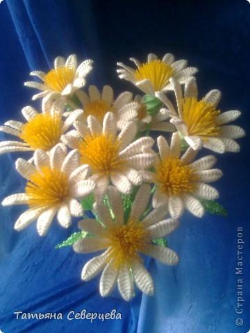 Плетение цветы соломка фото 3
