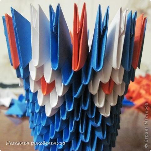 Поделки по книгам сайта 8 марта Валентинов день День матери День рождения День учителя Оригами китайское модульное Ваза Бумага фото 11