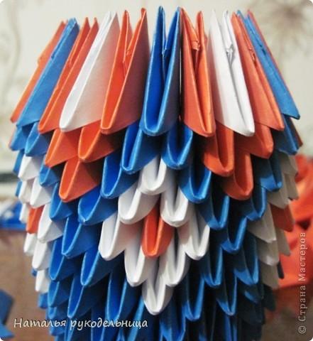 Поделки по книгам сайта 8 марта Валентинов день День матери День рождения День учителя Оригами китайское модульное Ваза Бумага фото 13