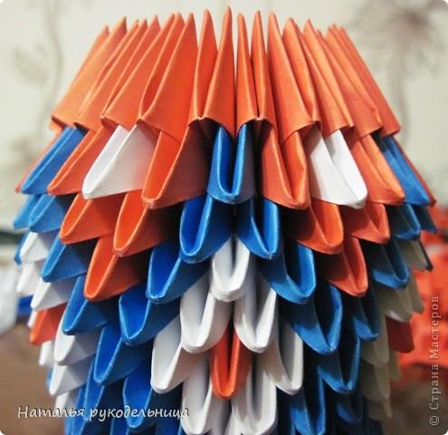 Поделки по книгам сайта 8 марта Валентинов день День матери День рождения День учителя Оригами китайское модульное Ваза Бумага фото 14