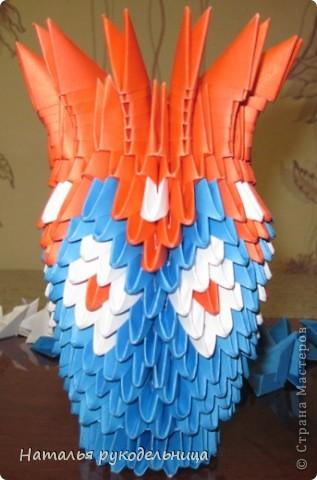 Поделки по книгам сайта 8 марта Валентинов день День матери День рождения День учителя Оригами китайское модульное Ваза Бумага фото 16