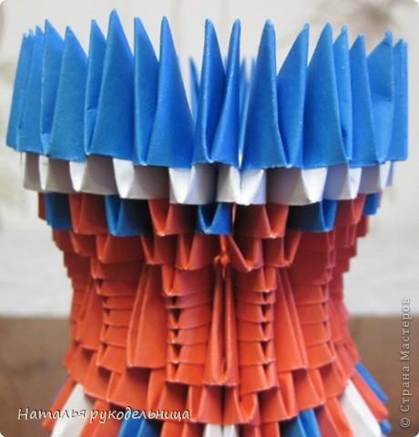 Поделки по книгам сайта 8 марта Валентинов день День матери День рождения День учителя Оригами китайское модульное Ваза Бумага фото 24