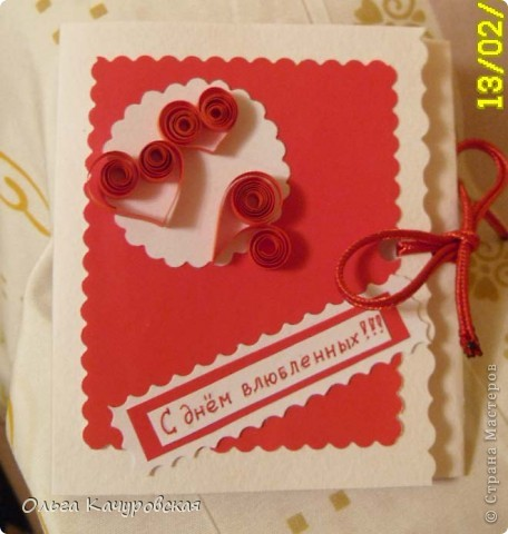 Вот и мы подготовились праздновать День всех влюбленных!!! Мастерили с дочкой открытки, украшали окна.... Результатом довольны!  фото 20