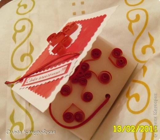 Вот и мы подготовились праздновать День всех влюбленных!!! Мастерили с дочкой открытки, украшали окна.... Результатом довольны!  фото 21