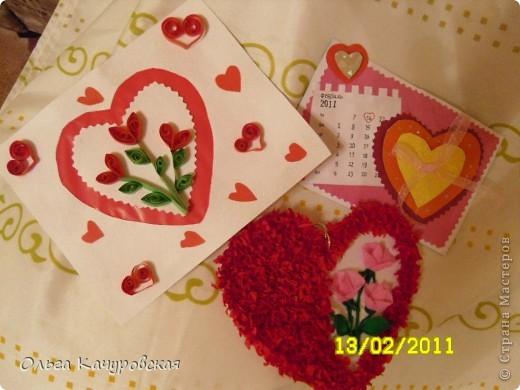 Вот и мы подготовились праздновать День всех влюбленных!!! Мастерили с дочкой открытки, украшали окна.... Результатом довольны!  фото 19