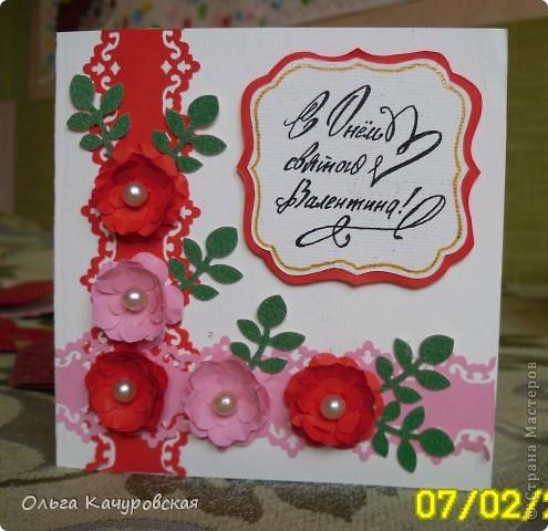 Вот и мы подготовились праздновать День всех влюбленных!!! Мастерили с дочкой открытки, украшали окна.... Результатом довольны!  фото 15