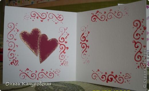 Вот и мы подготовились праздновать День всех влюбленных!!! Мастерили с дочкой открытки, украшали окна.... Результатом довольны!  фото 16