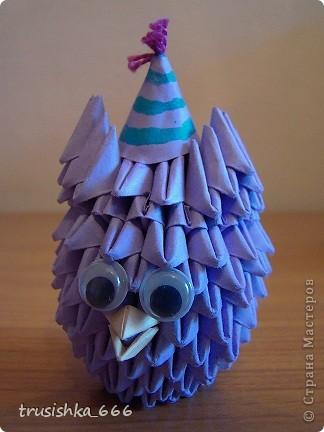 Модульное оригами - Смешарики мои.