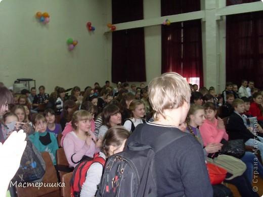Добрый вечер, это снова МЫ! Спешим поделиться радостью! Вот при таком полном зале... сегодня в нашей школе состоялась линейка! И мы узнали, что получили специальный приз от КАТЬЯНКИ! https://stranamasterov.ru/user/104446 фото 1