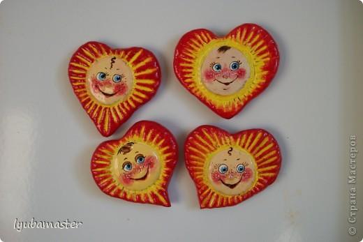 валентики- солнышки/магниты/