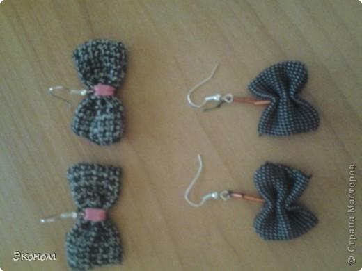 Эти сережки сделала на подарки своим подружкам моя племянница Юленька. фото 1