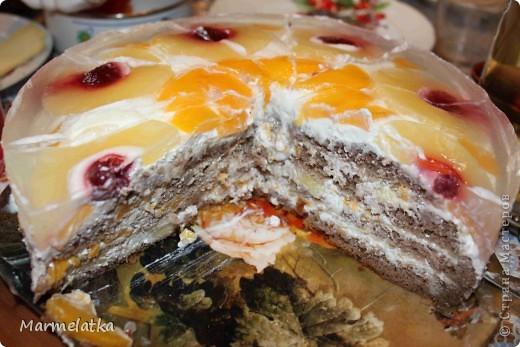 """Торт """"Фруктовый рай"""" фото 2"""