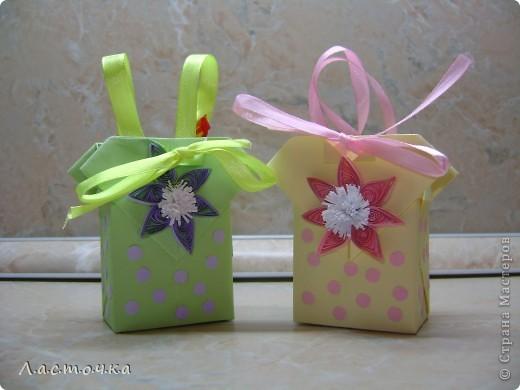 Здраствуйте!Сегодня я хочу показать Вам сумочки-бонбоньерки сделанные по МК Elena.ost(ссылка ниже). фото 1