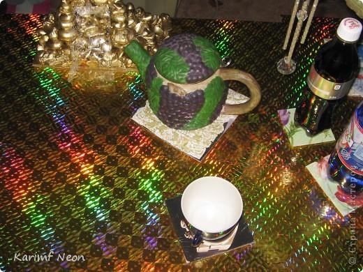 Я сделал Золотой Стол и мне понадобились подставки, чтобы подольше сохранить столешницу.   фото 8
