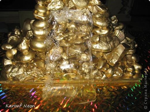 Я сделал Золотой Стол и мне понадобились подставки, чтобы подольше сохранить столешницу.   фото 9