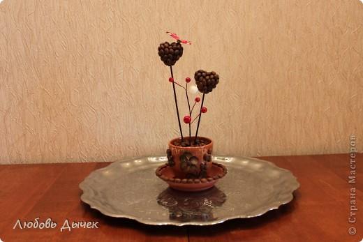 Эта кофейная композиция появилась в нашем доме в День Святого Валентина. фото 2
