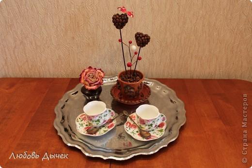 Эта кофейная композиция появилась в нашем доме в День Святого Валентина. фото 6