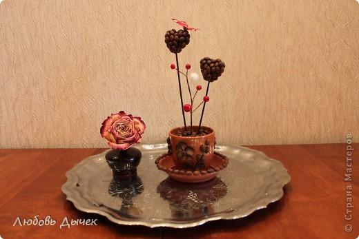 Эта кофейная композиция появилась в нашем доме в День Святого Валентина. фото 5