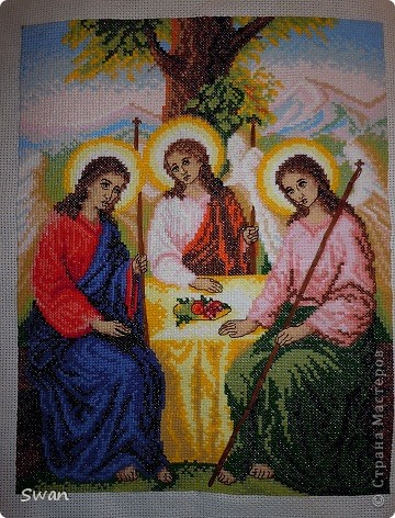 картина троица: