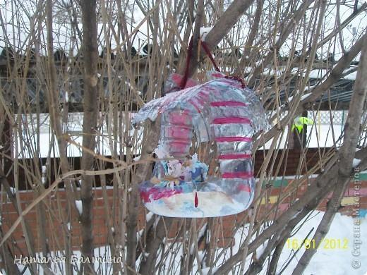 Кормушка для птиц своими руками из бутылки