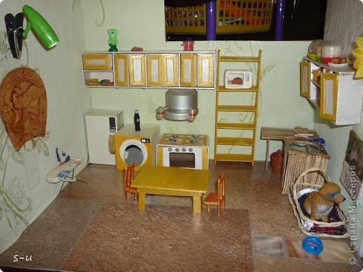 Вот такой домик,я построила дочке, по чертежам из интернета ))) фото 12