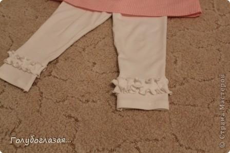 Я опять с обновками для доченьки в садик. Шила по журналу OTTOBRE. Ткань из  моих прошлогодних запасов- поплин, хлопок, интерлок.  фото 4