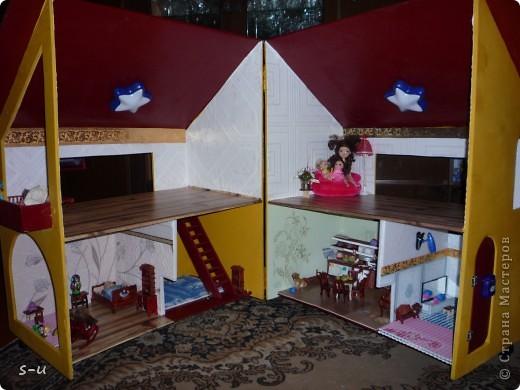 Вот такой домик,я построила дочке, по чертежам из интернета ))) фото 2