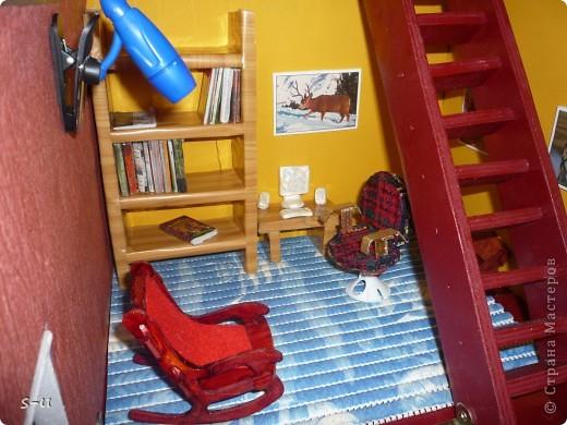Вот такой домик,я построила дочке, по чертежам из интернета ))) фото 19