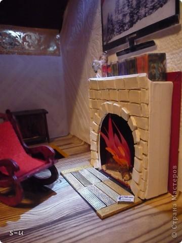 Вот такой домик,я построила дочке, по чертежам из интернета ))) фото 11