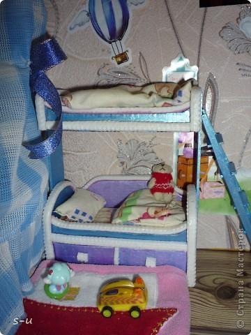 Вот такой домик,я построила дочке, по чертежам из интернета ))) фото 16