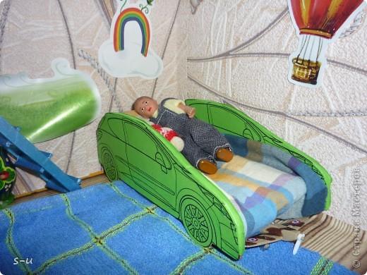 Вот такой домик,я построила дочке, по чертежам из интернета ))) фото 22