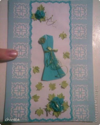 попросили сделать открытку для танцовщицы.Идею подсмотрела здесь http://stranamasterov.ru/node/190915?c=favorite фото 2