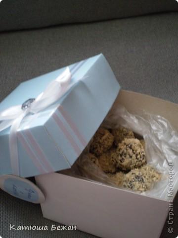 Готовясь к сегодняшнему дню рождения я решила гостям сделать ответные подарочки=)я подумала ,что будет очень удобно не искать какие-то коробочки....пакетики для тортика или ещё чего-либо и гораздо приятней моему гостю) фото 3