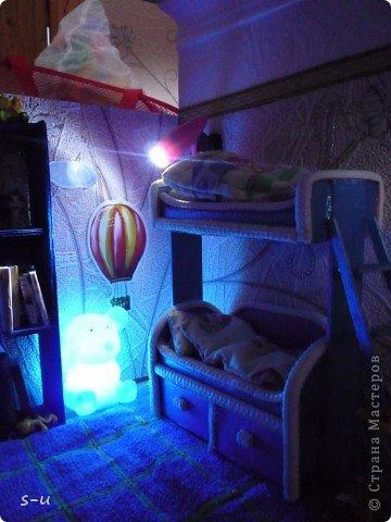 Вот такой домик,я построила дочке, по чертежам из интернета ))) фото 23