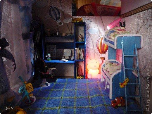 Вот такой домик,я построила дочке, по чертежам из интернета ))) фото 24