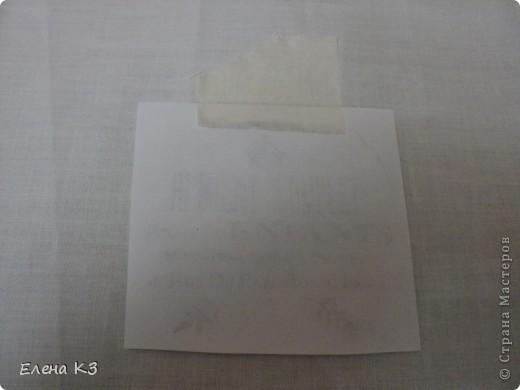 Декор предметов Мастер-класс Декупаж Перевод распечатки на ткань и дерево фото 4