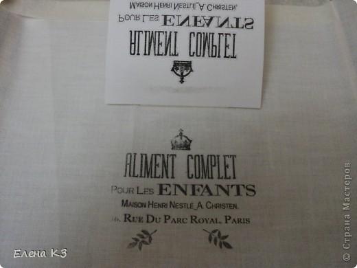 Декор предметов Мастер-класс Декупаж Перевод распечатки на ткань и дерево фото 7