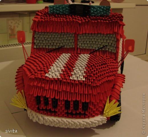 Модульное оригами - Пожарная