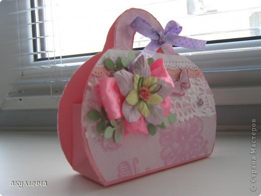 подарочная сумочка  фото 2