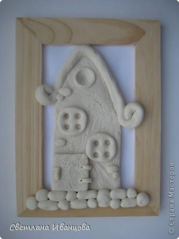 Дом из соленого теста своими руками