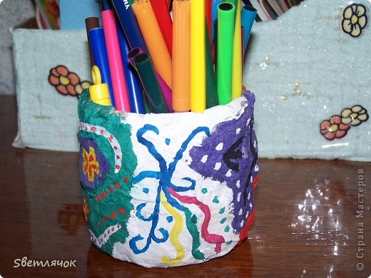 карандашница фото 2