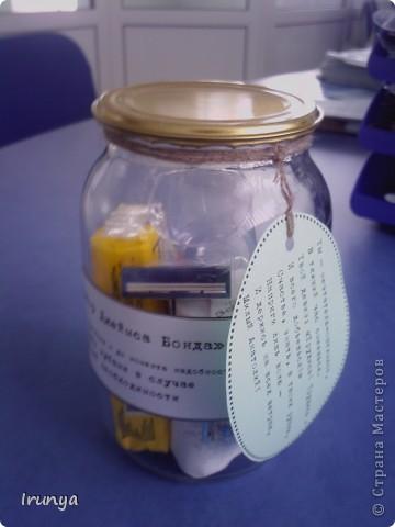 Вот такие подарочки готовили к 23 февраля коллегам-мужчинам в прошлом году, хотелось чего-то весёлого.... Идея из интернета, спасибо автору  фото 5
