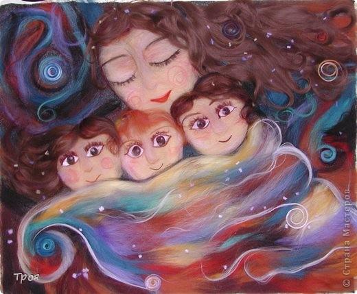 картина семья: