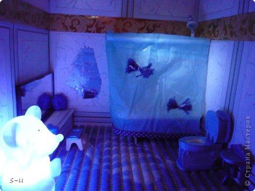 Вот такой домик,я построила дочке, по чертежам из интернета ))) фото 27
