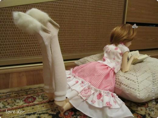 Платье и шляпка.чулочки.Обувь покупная. фото 6