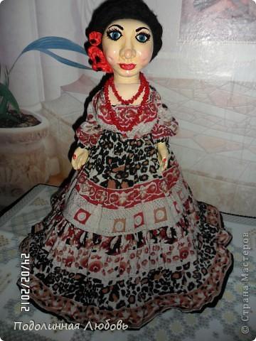 Моя первая и любимая кукла. Имя ей дал мой муж, который не лишен чувства юмора.  фото 1