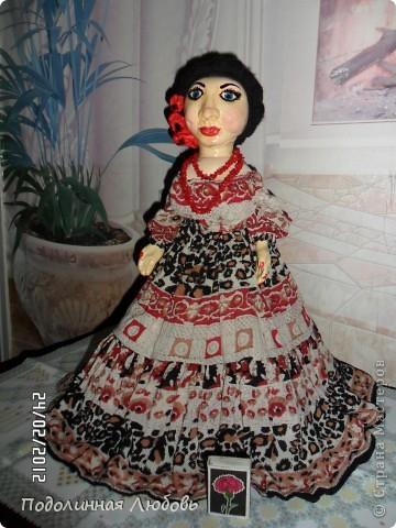 Моя первая и любимая кукла. Имя ей дал мой муж, который не лишен чувства юмора.  фото 2